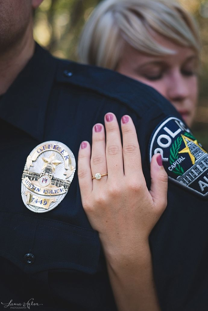 Laura Acton Photography | Police Engagement Session