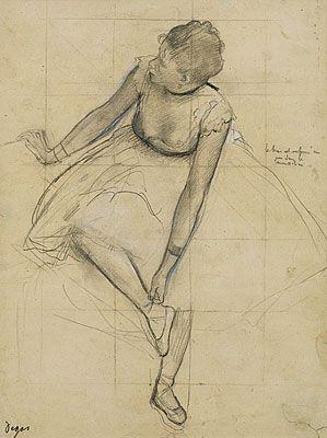 A Degas ballerina