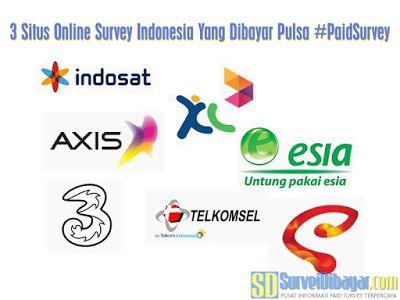 3 Situs Online Survey Indonesia Yang Dibayar Pulsa   SurveiDibayar.com
