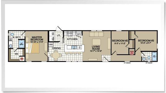 Scotbilt Mobile Home Floor Plans Singelwide Don T Settle Choose Your Own Mobile Home Floor Plans House Pinterest