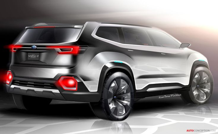 Subaru VIZIV-7 SUV Concept Revealed at LA Auto Show