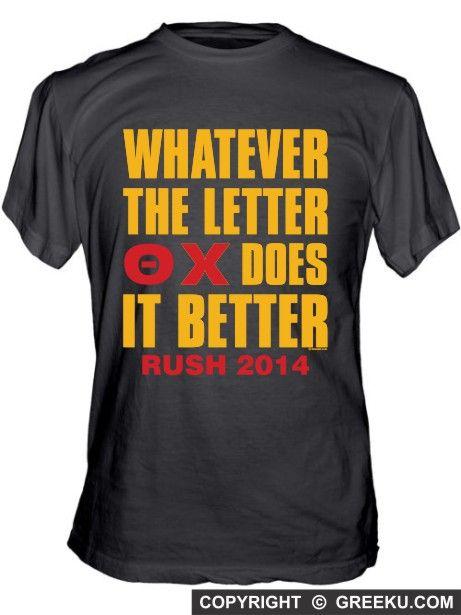 Theta Chi Greeks Do It Better Unisex Fine Jersey T-shirt