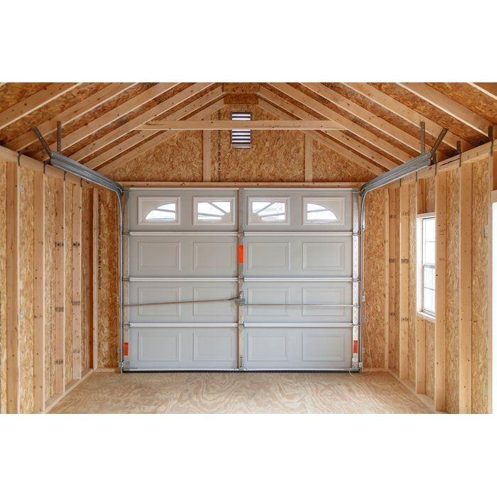 garage bedroom addition%0A D Wooden Garage Shed is the perfect addition