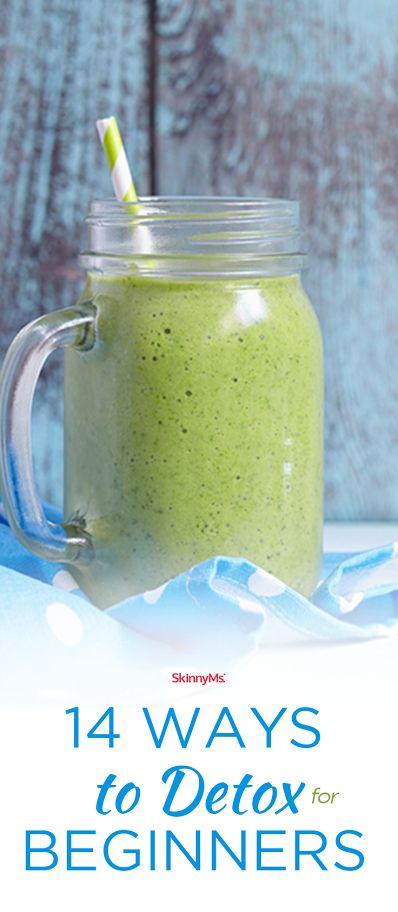 Try these 14 Ways to Detox for Beginners!