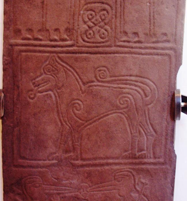 Papil Pictish Stone - Ancient Scotland