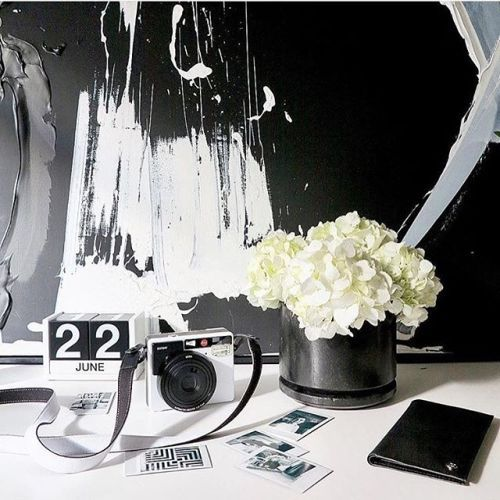 Workspace goals. A beautiful monochromatic setting styled by leading Style Director @stevecordony . Featured is the Leica Sofort in White. #Leica #LeicaCameraAus #monochrome #cameraporn # via Leica on Instagram - #photographer #photography #photo #instapic #instagram #photofreak #photolover #nikon #canon #leica #hasselblad #polaroid #shutterbug #camera #dslr #visualarts #inspiration #artistic #creative #creativity