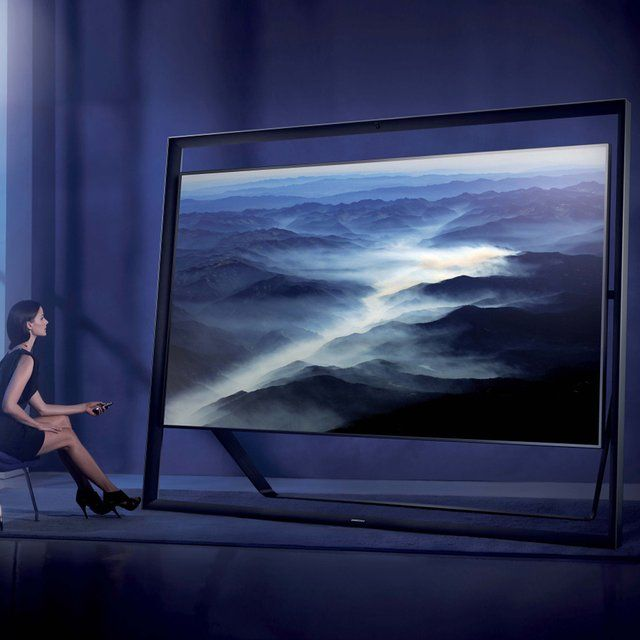 Samsung S9 4K UHD TV 85-inch S9 4K UHD TV Samsung Electronics Co., Ltd. created the ultimate lean back $45,000