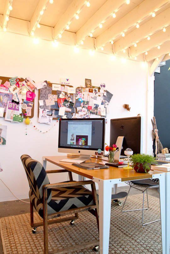The Keys to a Perfectly Styled Desk!  Love this!