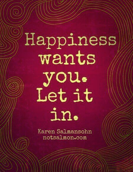 Just open up and let yourself be happy!!!  You deserve it. Let me make you happy. I miss you.