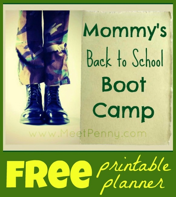 Get out of the summer slump by putting your family through Mommy's Back to School Boot Camp