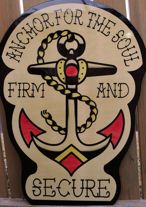 Sailor Jerry Ed Hardy Anchor Straight Edge Vintage by cristocat, $60.00