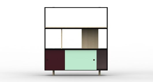 Offset #shelving system #designed by Tomas #Alonso for #Italian company #Maxdesign