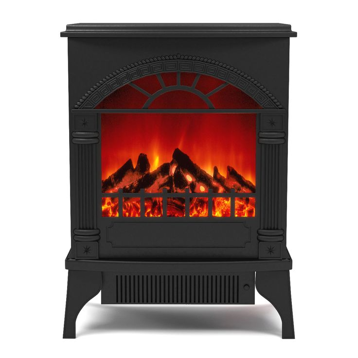 Moda Gibson Living Apollo Free Standing Portable Electric Fireplace Space  Heater