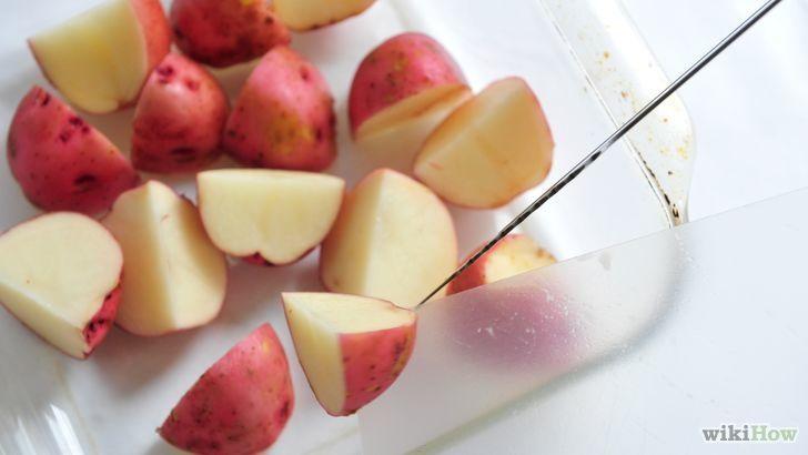 5 manières de préparer des pommes de terre à peau rouge