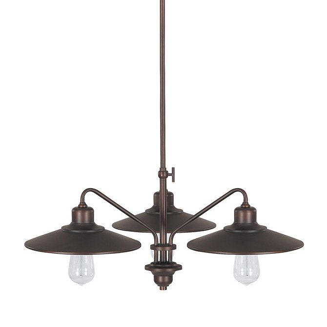 View the Capital Lighting 4193 Urban 3 Light 1 Tier Chandelier at LightingDirect.com.