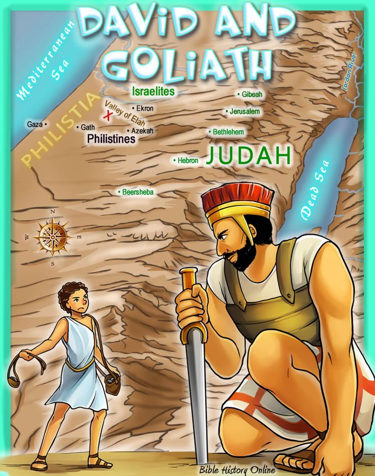 An analysis of the story of david versus goliath