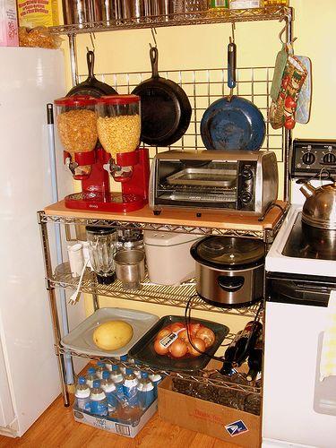 55 Desain Rak Dapur Minimalis dan Gantung | Rak dapur ...
