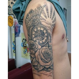 tattoos with clouds and sun rays - Google Search