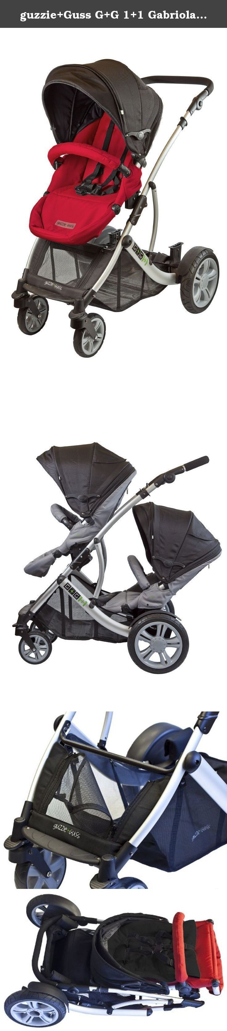 The G G 1 1 Gabriola Stroller is a versatile modular stroller that can convert from a travel system to a single or in line double stroller