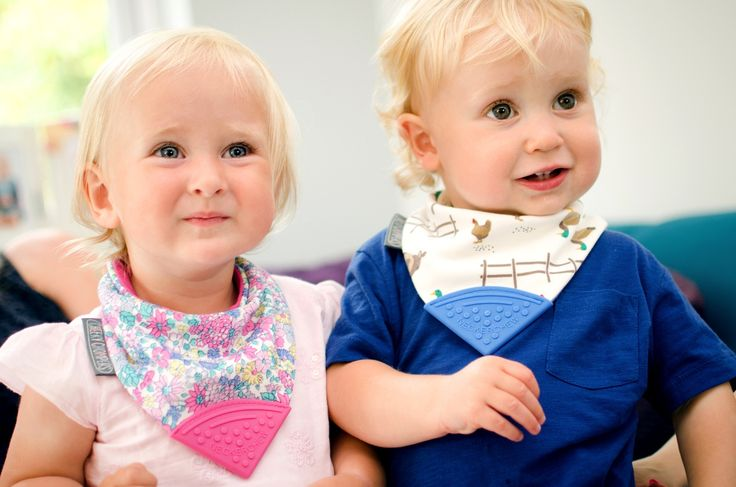 The new #neckerchew Joules Collection from #cheekychompers  Ditsy & Farmer Joules