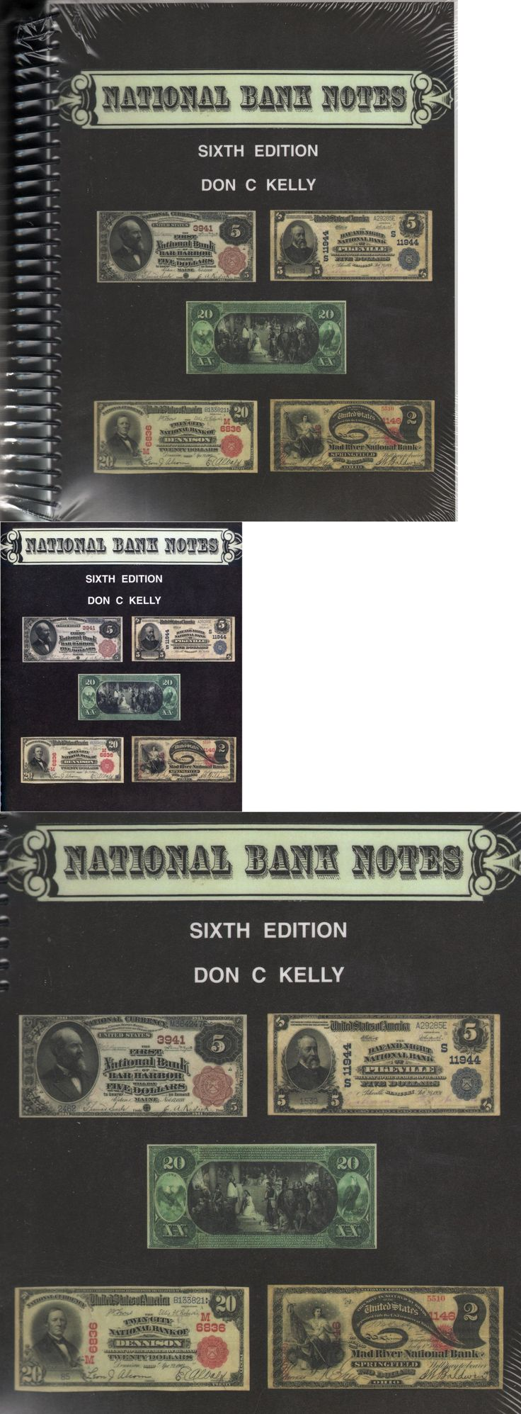 Paper Money: National Bank Notes Sixth 6Th Edition By Don C Kelly New Book W/Cd Free Ship Usa BUY IT NOW ONLY: $74.99