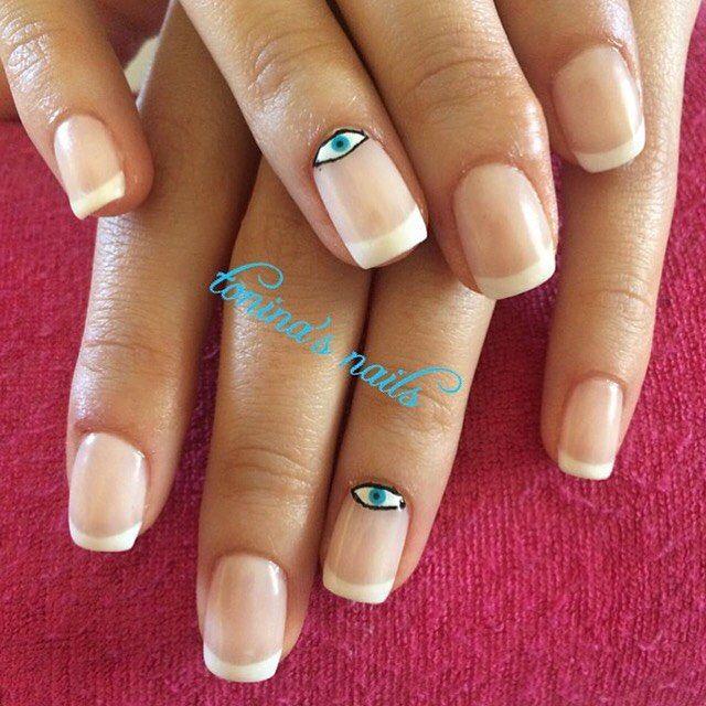 #nail#nails#nailart#nailbling#nailpolish#nailcreation#art#polish#mani#manicure#shellac#shellaccreation#gel#gelnails#frenchnails#frenchmanicure#fashion#toninasnails#girl#glitter#naildesign#nailstagram#nailsoftheday#nailswag#heartnails#eyenails