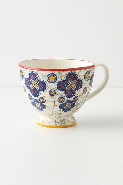 Anthropologie EU Kebaya Mug