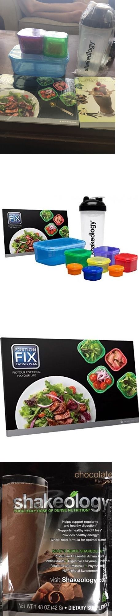 Fitness DVDs 109130: Beachbody Portion Fix Kit Portion Control, Eating Plan, Shaker And Free Shakeology -> BUY IT NOW ONLY: $30.6 on eBay!