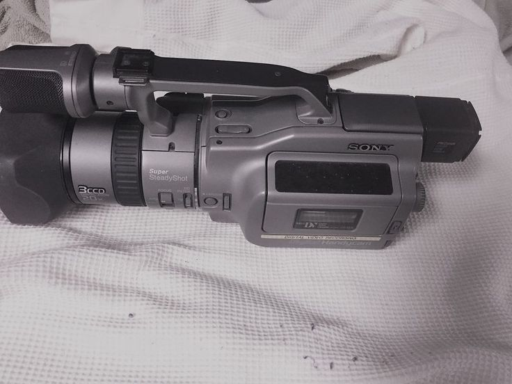 Sony DCRVX1000E Camcorder Gray Video camera