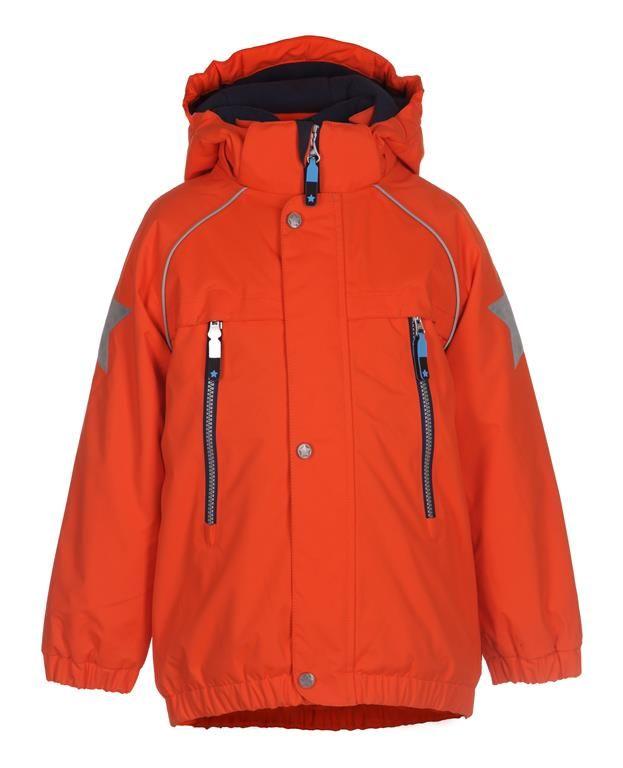 www.aatio.fi, Aati O, lastenvaatteet, Molo Kids, Castor jacket Orange Shock