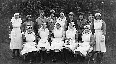 St John Ambulance Nurses - c1934