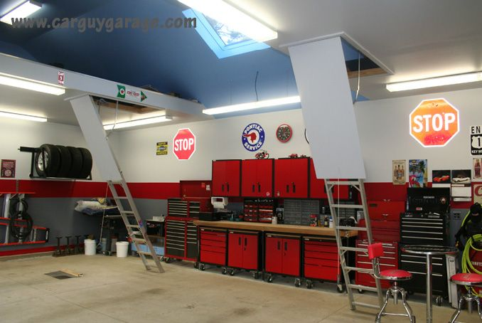 garages I wish I could build for my husband