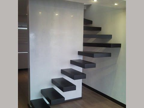 17 mejores ideas sobre escalera moderna en pinterest for Tipos de escaleras interiores