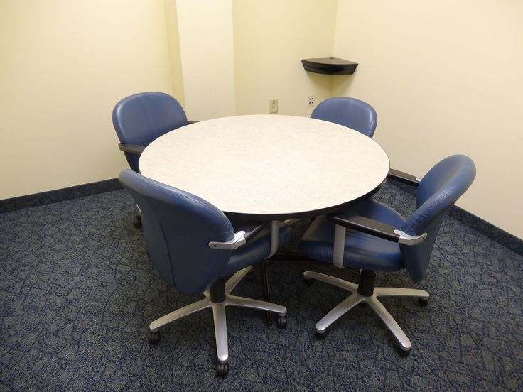 Beautiful 48 Round Conference Table And Chairs