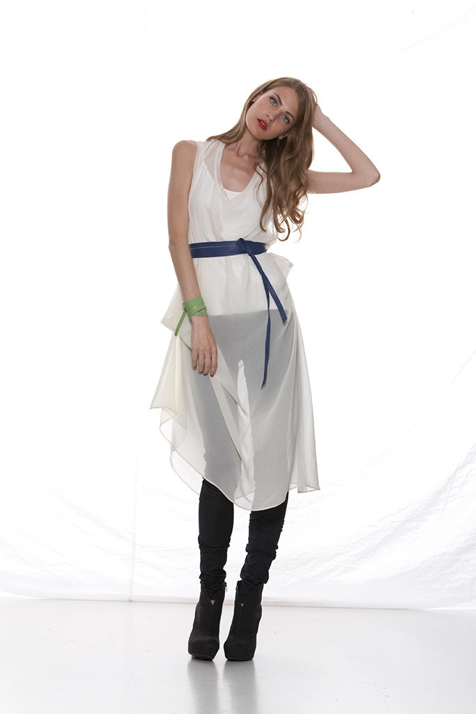 Taylor 'Shadow' Collection, Summer 12/13 www.taylorboutique.co.nz Element Tunic Dress - Porcelain