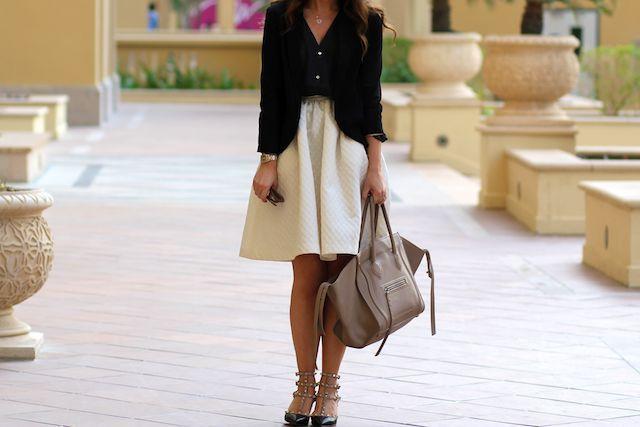 buy now, blog later: The H Flared Skirt