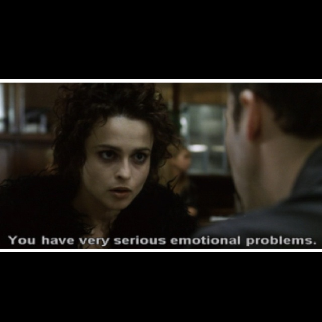 29 best images about F... Helena Bonham Carter Fight Club Quotes