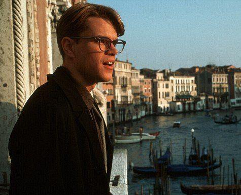 Matt Damon as The Talented Mr. Ripley