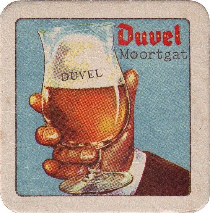 duvel coaster #vintage