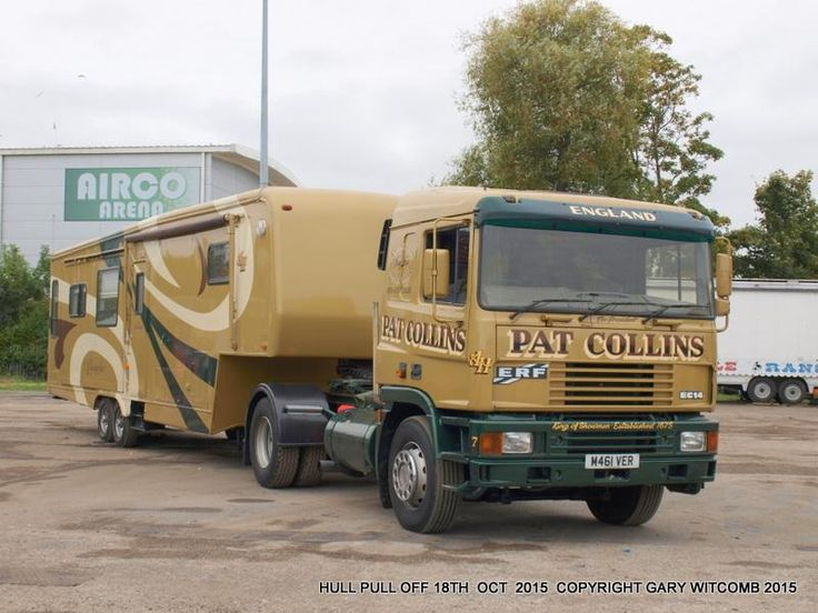 1993/4 ERF and fifth wheel trailer owned by showman