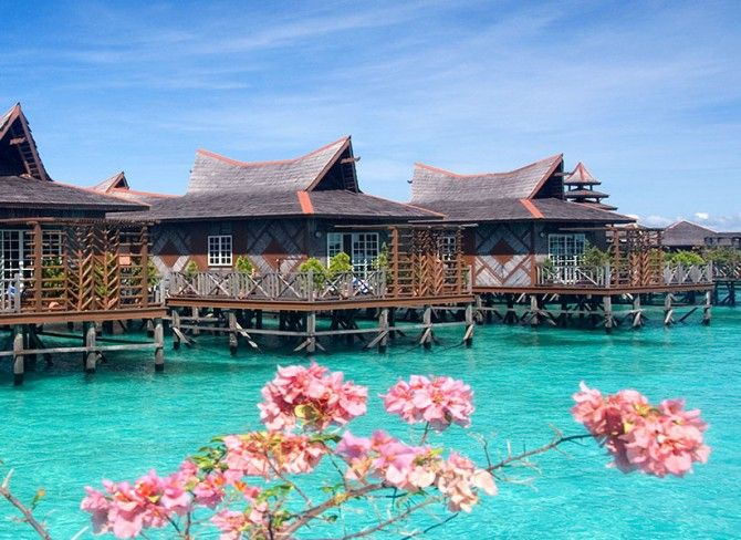 Overwater Bungalows In Malaysia Part - 24: Mabul Water Bungalows (Sipidan) - Overwater Bungalows, Villas, And Cruises  | Over-The-Water.com #malaysia | Overwater Bungalows | Pinterest | Villas,  ...