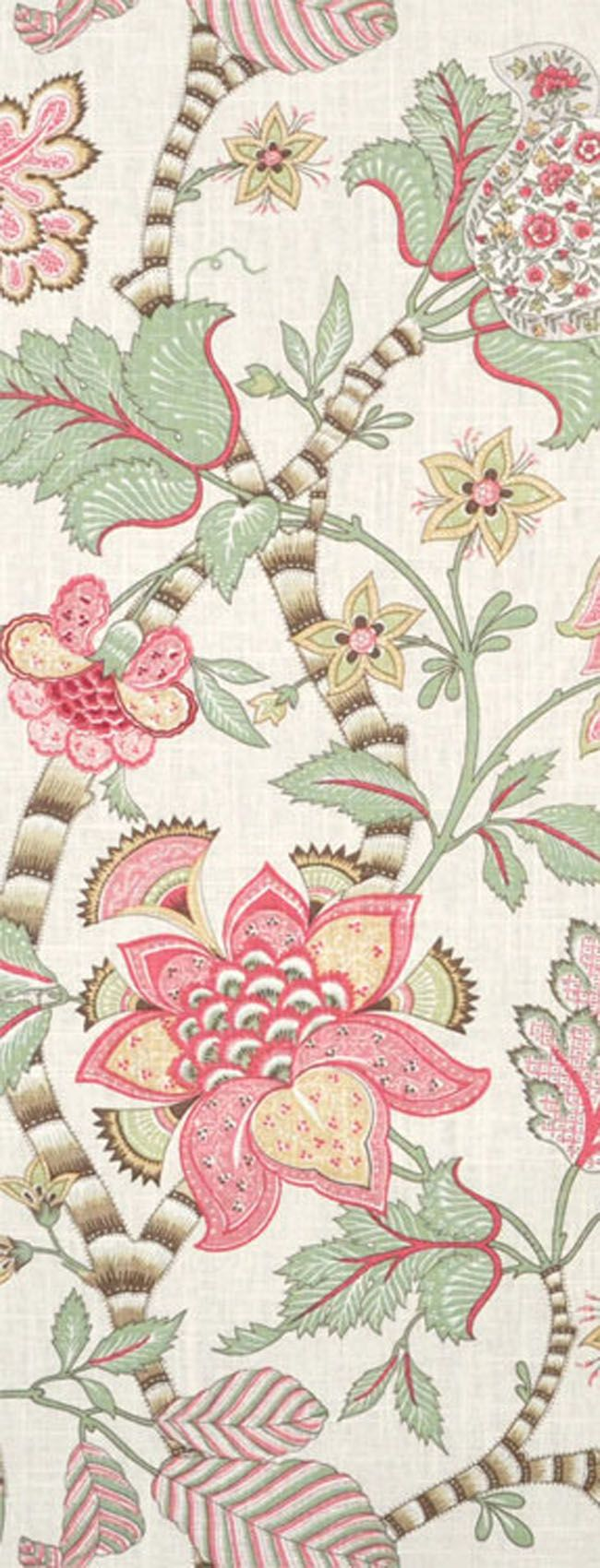 P. Kaufmann Clarice/Cir English Cream Fabric  $21.75  per yard