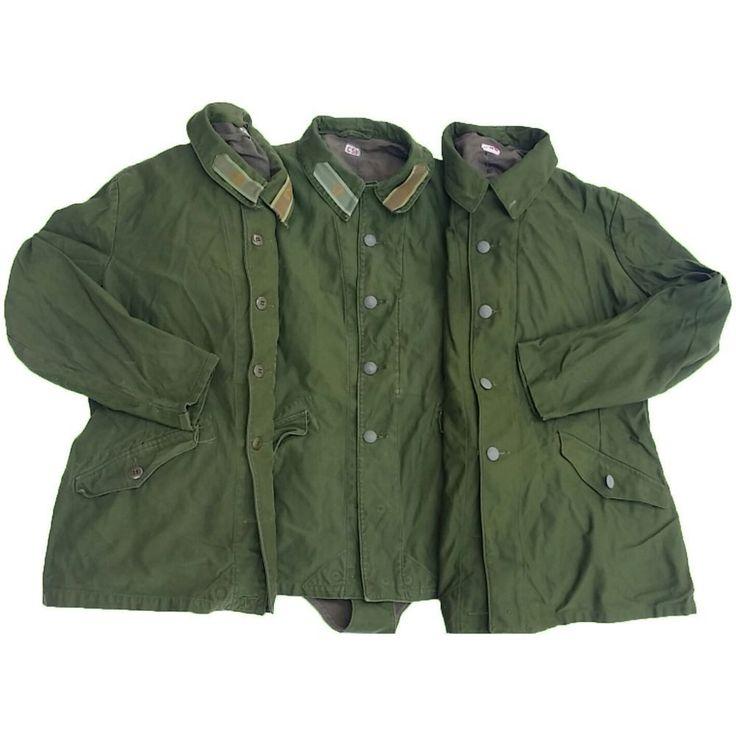 Original M59 schwed. Armee Feldjacke 3er Pack Waffenrock Jacke Größen gemischt | eBay
