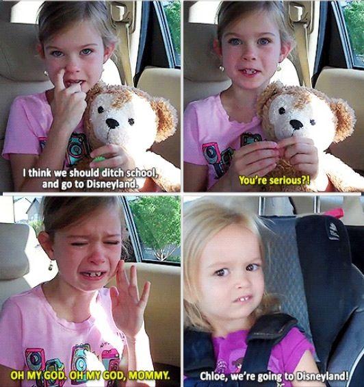 Omg Chloe's face! The video made me LOL bahaha