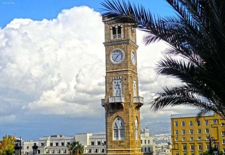 http://ru.esosedi.org/LB/places/1000479807/chasovaya_bashnya/  Часовая башня – #Ливан #Бейрут (#LB) Красивая башня установленная в 19 веке
