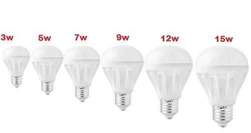 LED E26 energy saving bright light bulb lamp 3/5/7/9/12/15/ 110V-120V home use  #trisontic