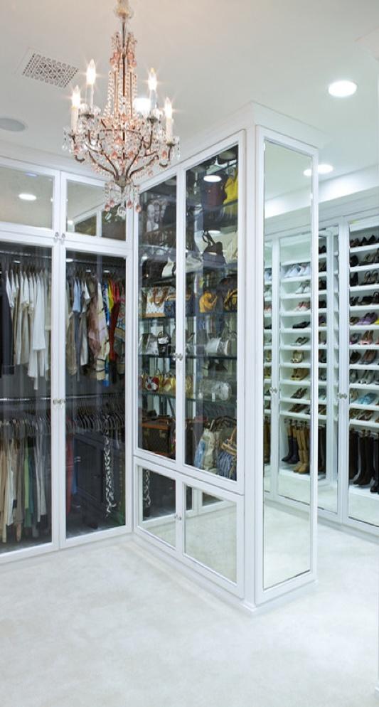 Luxury Closet Space.
