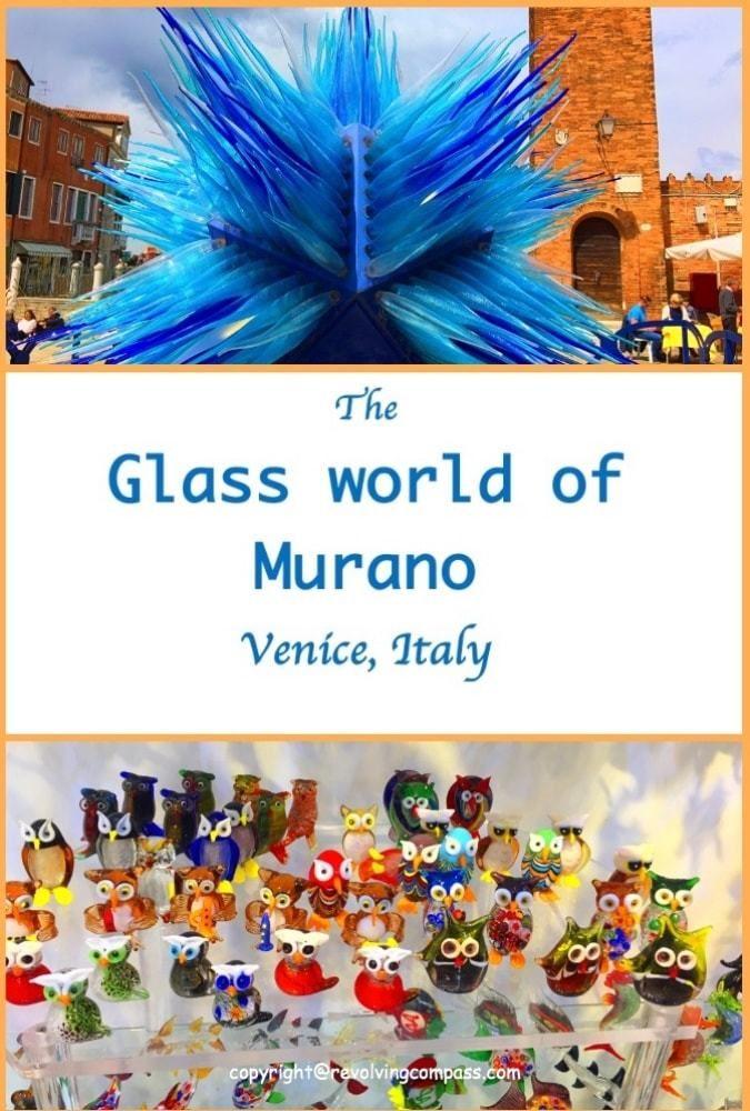 Murano   Venice   Italy   Glass world of Murano   Glass works of Murano   Starburst Sculptures of Murano   Things to do in Murano