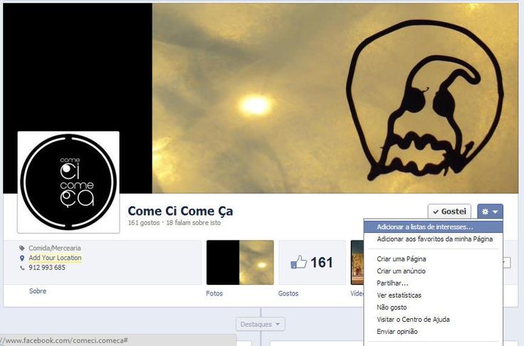 Faça GOSTO na nossa Página | Put LIKE in your page