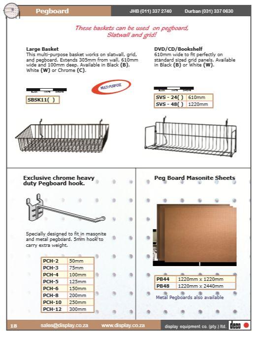 Shopfitting Rails, Racks, Counters & Fixtures